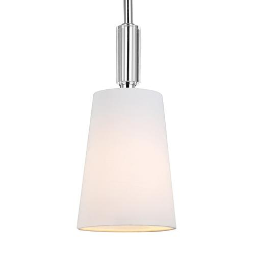 Lismore Mini Pendant Polished Nickel