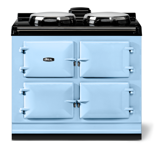 """AGAAga Classic 39"""" Dual Control Electric-Only Model, Duck Egg Blue"""
