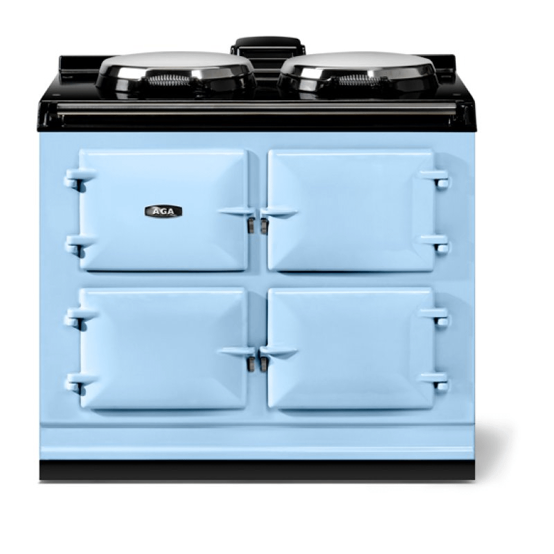 """AGA classic 39"""" Dual Control Electric-Only Model, Duck Egg Blue"""