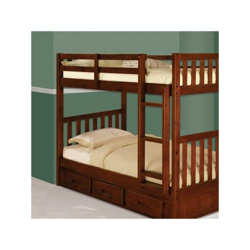 Donco Trading Company - Mission Twin/Twin Bunk Merlot