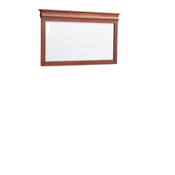Louis Philippe Bureau Mirror, Medium