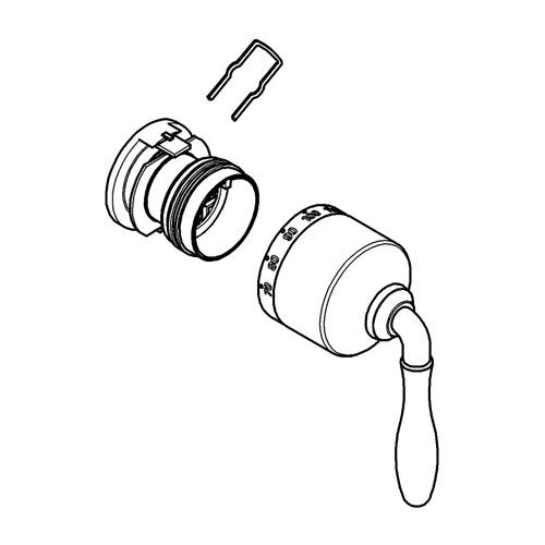Grohe - Universal (grohe) Thermostatic Temperature Lever