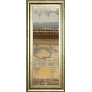 "Classy Art - ""Movement Panel Il"" By Jeni Lee Framed Print Wall Art"