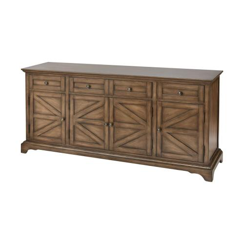 Willets Farmhouse Wood Stain Cabinet