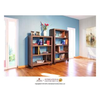 "54"" Bookcase with 3 shelves & Casters"