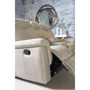 Boardwalk Manual Motion Reclining Loveseat, Stone Product Image