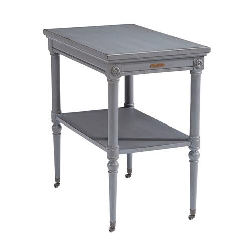 TABLE,PETITE ROSETTE W/CASTERS