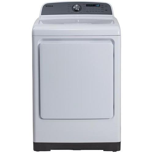 Winia - 7.4 cu. ft. Electric Dryer, E-Star Certified