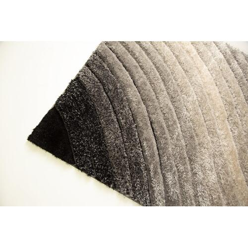 Sorrento 726 Shag Area Rug by Rug Factory Plus - 2' x 3' / Silver