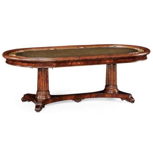 Mahogany poker table