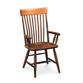 Esther Arm Chair, Wood Seat