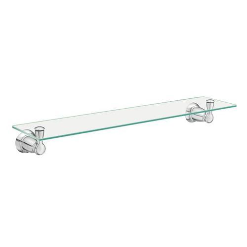 Banbury chrome vanity shelf