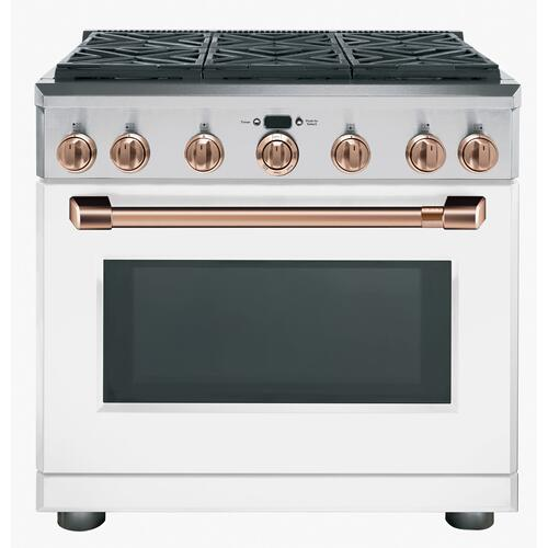 """Cafe - Café™ 36"""" All-Gas Professional Range with 6 Burners (Natural Gas)"""