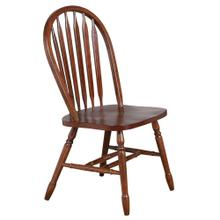 """See Details - Arrowback Dining Chair - Distressed Chestnut (38"""")"""