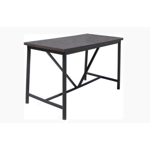 "Alfresco Home - Jasper 59"" Rectangular LWC Gathering Table w/ umbrella hole"
