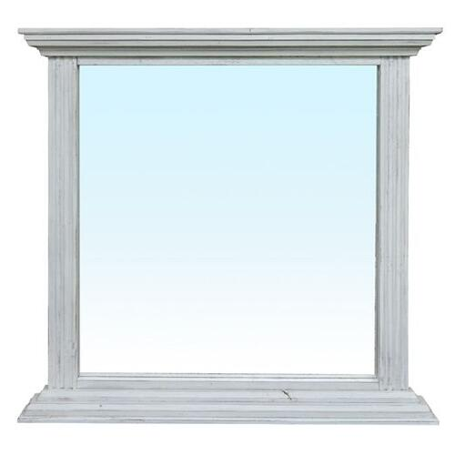 Coliseo Mirror-old White