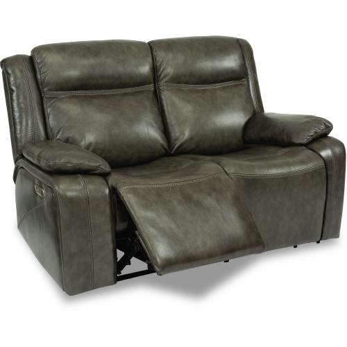 Journey Power Reclining Loveseat with Power Headrests
