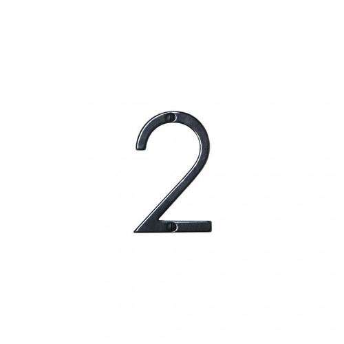 """Rocky Mountain Hardware - 2 3/4"""" House Number - N2752 Silicon Bronze Medium"""