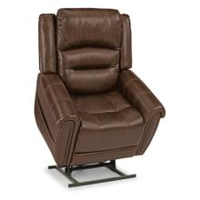 See Details - Oscar Leather Power Lift Recliner with Power Headrest