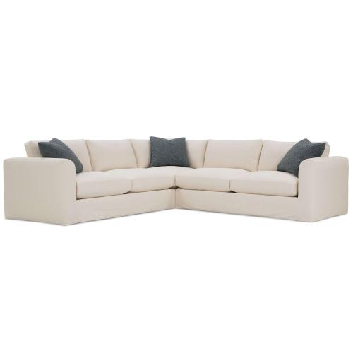 Derby Slipcover Sectional Sofa