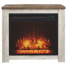 Mantel with Fireplace Insert