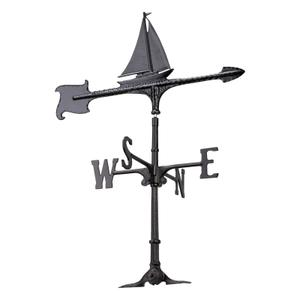 "30"" Sailboat Accent Weathervane Product Image"