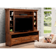 Glengarry HDTV Cabinet w/ Hutch w/ 54'' TV Opening
