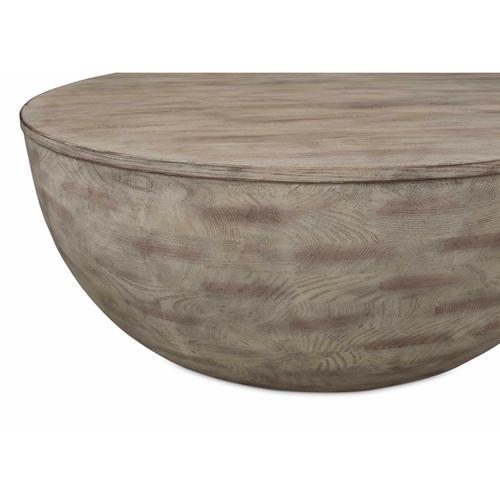 Bassett Furniture - Tahiti Drum Cocktail Table