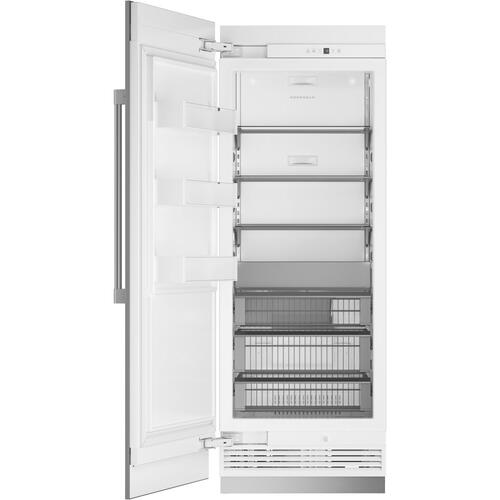 "Monogram 30"" Smart Integrated Column Freezer"