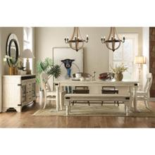 Regan - Bench - Farmhouse White Finish