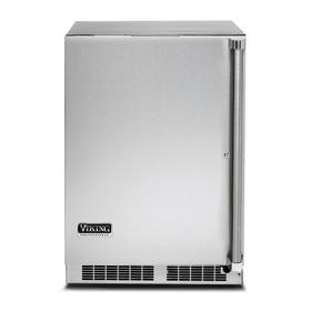"""24"""" Solid Door Undercounter Refrigerator - VRUO Viking Professional Product Line"""