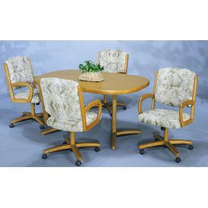 Gallery - Table Base: Twin Legs (wood)