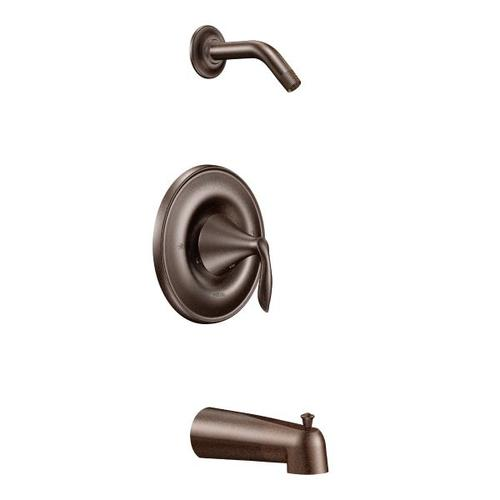 Eva oil rubbed bronze posi-temp® tub/shower