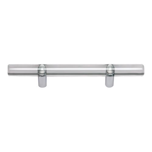 Optimism Rail Pull 3 Inch (c-c) - Polished Chrome
