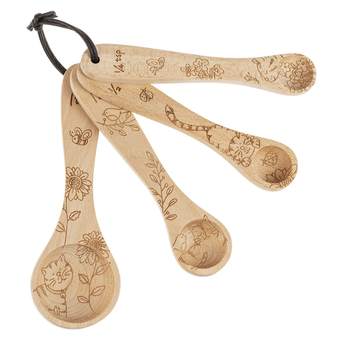 Measuring Spoons - Cats (4 pc. set)