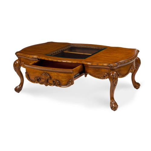 Grand Traditions Rectangular Cocktail Table Heritage Oak