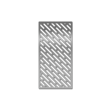 Laser-cut Grill Grate, Meat Pattern