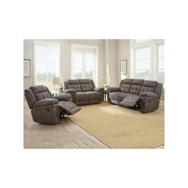 Anastasia Grey 3 Piece Motion Set(Sofa, Loveseat & Chair)