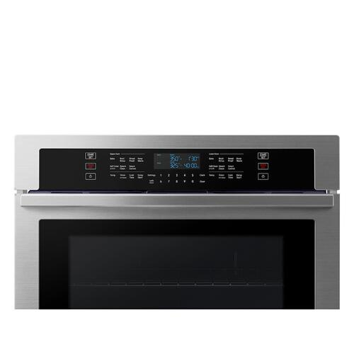 "30"" Double Wall Oven with Wi-Fi in Stainless Steel"