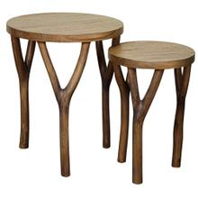 See Details - Vera Nesting Table, Antique Smoke