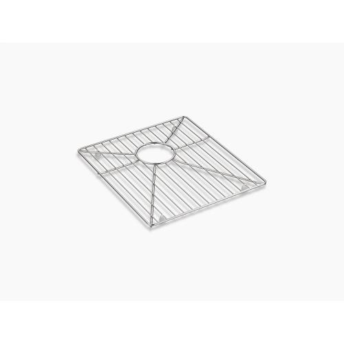 """Stainless Steel Sink Rack for 36"""" Double-equal Apron-front Sink"""
