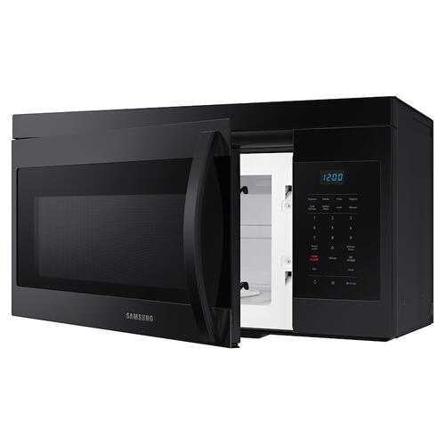 Samsung - 1.6 cu. ft. Over-the-Range Microwave with Auto Cook in Black