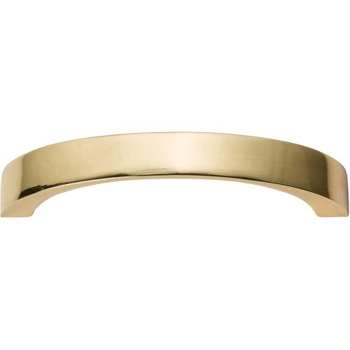 Tableau Curved Handle 2 1/2 Inch - French Gold