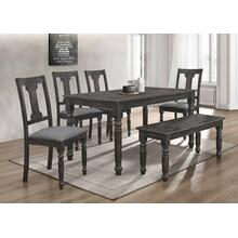 7816 6PC Distressed Dining Room SET