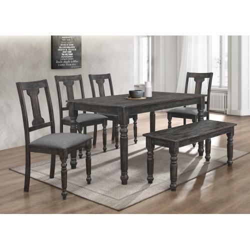 7816 6PC Distressed Dining Room SET