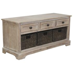 See Details - Oslember Storage Bench