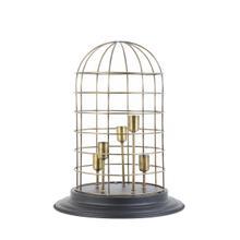 "61813120 - CHANGI Lamp 5L Blk+Bronze, 18""x23.5"""