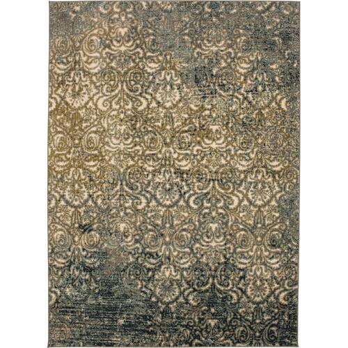 Touchstone Melrose Blue Teal 2'x3'