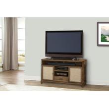 """55"""" TV Console W/linen Panels"""