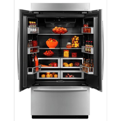 Gallery - Jenn-Air® 42-Inch Built-In French Door Refrigerator